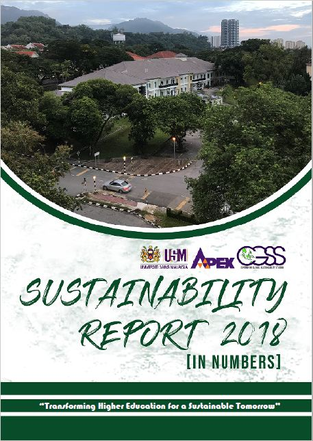Sustainability Report 2018 front page